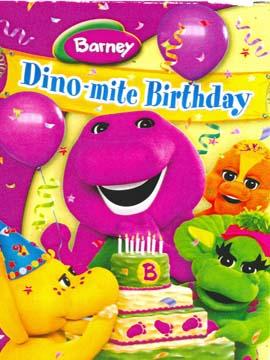 Barney: Dino-mite Birthday