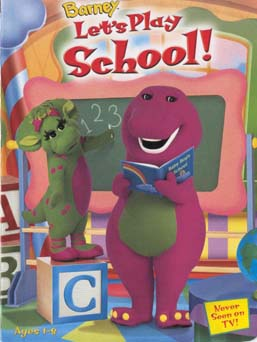 Barney Let's Play School