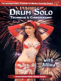 Drum Solo: Technique and Choreography with Jillina - Bellydance