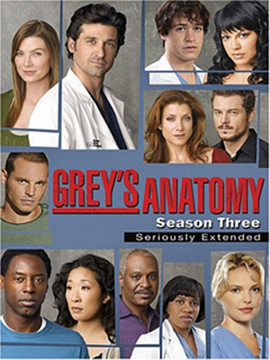 Grey's Anatomy - The Complete Season Three