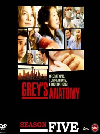 Grey's Anatomy - The Complete Season Five