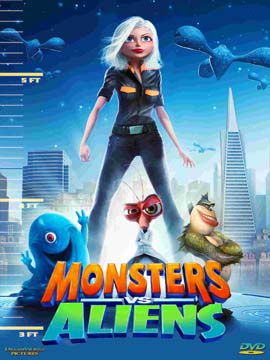 Monsters vs Aliens - مدبلج