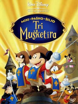 Mickey, Donald, Goofy: The Three Musketeers - مدبلج