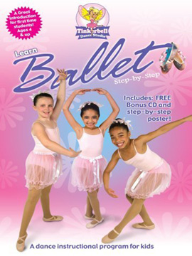 Tinkerbell Dance Studio: Learn Ballet Step by Step