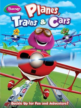 Barney Planes Trains And Cars