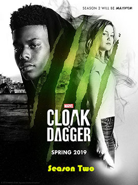 Cloak and Dagger - The Complete Season Two