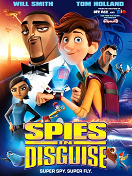 Spies in Disguise - مدبلج